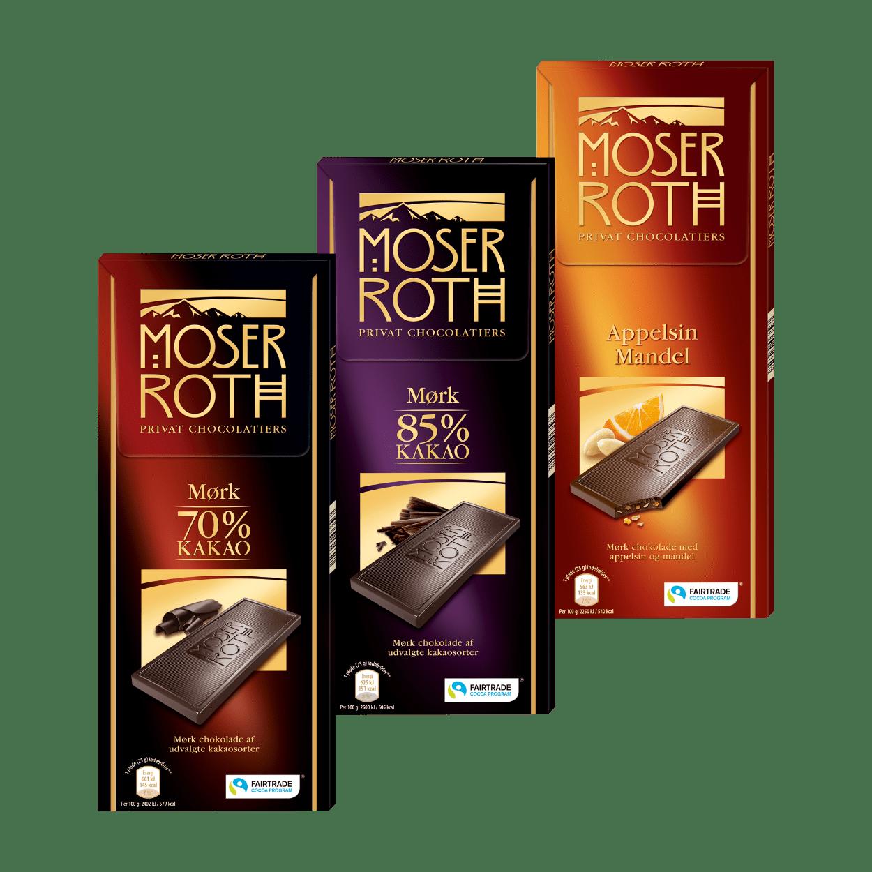 mørk chokolade tilbud