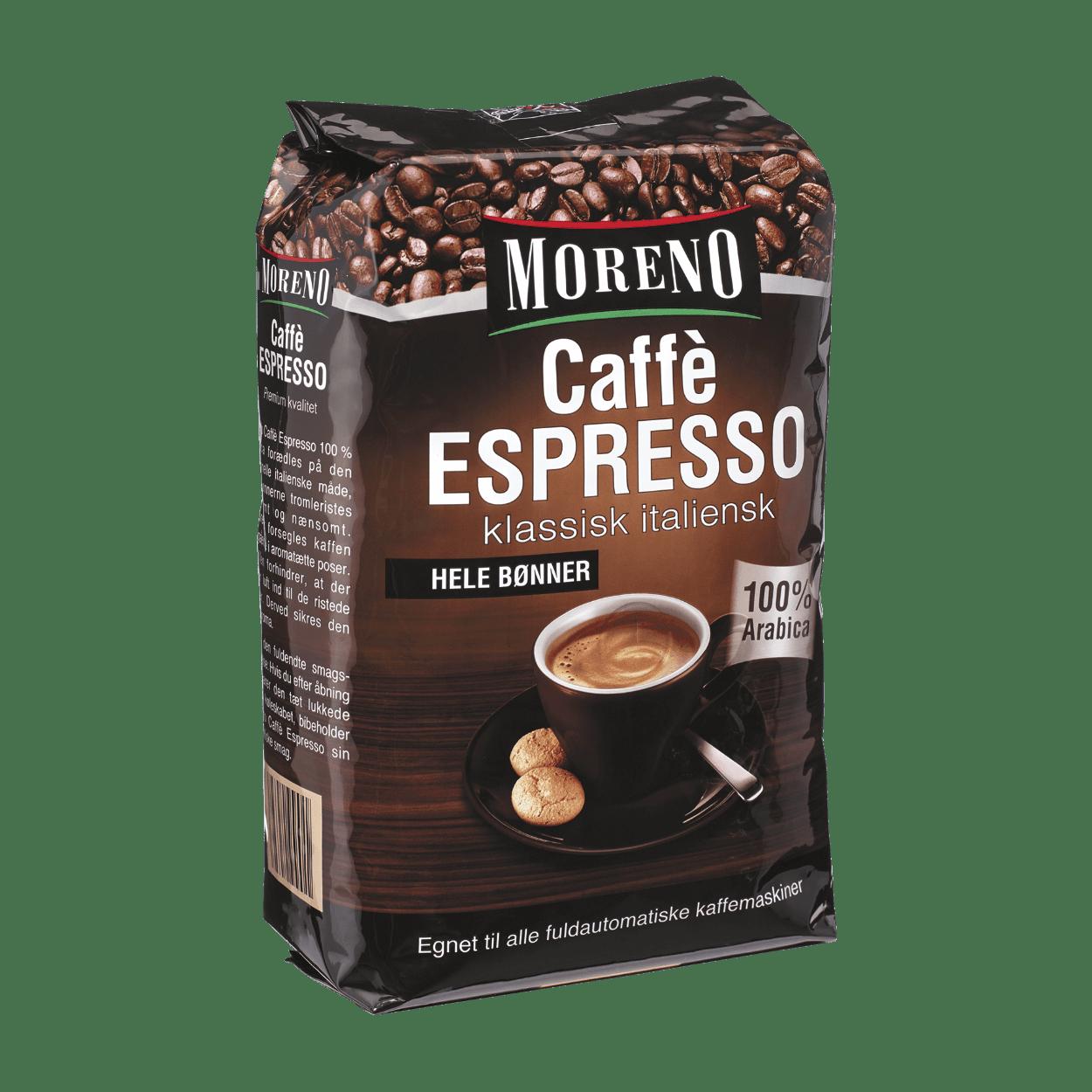 kaffebønner hele
